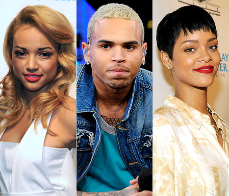 Love: Chris Brown/Rihanna/Karruche Love triangle