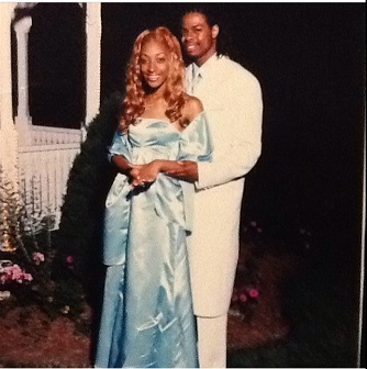 Pic of me and my date at prom in 2004 (crazy how time flies!)